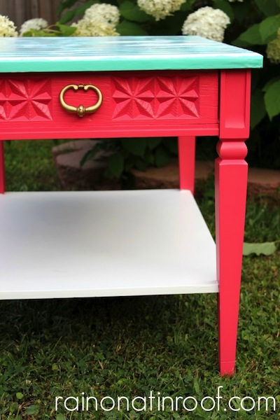 pink-nightstand-makeover-e1375752625150