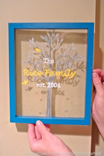 Glass Painting Ideas - One Project Closer