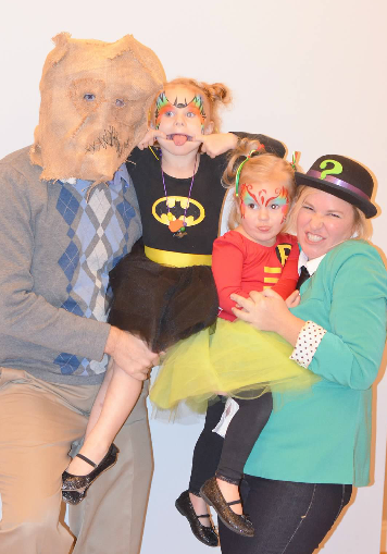 Batman family themed costumes - One Project Closer