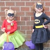 DIY Batgirl and Robin Girl Costumes!
