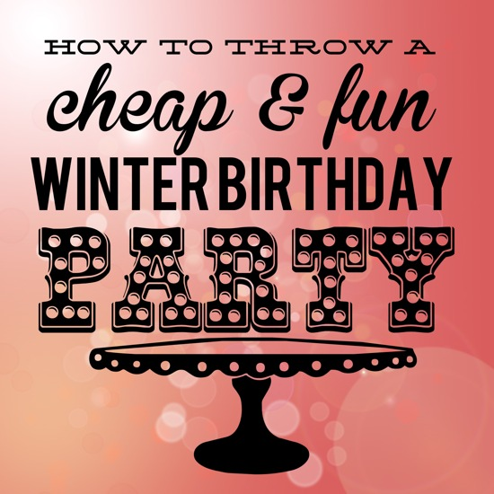 toddler birthday party ideas for winter - One Project Closer