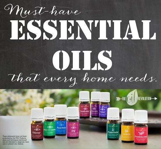 Essential Oils for the home - one project closer
