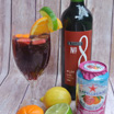Summer is Here with Two Ingredient Sparkling Sangria!