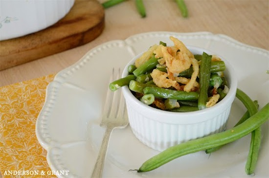 Green Bean Casserole from Anderson and Grant