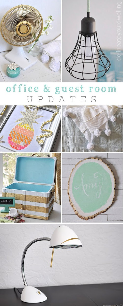 office - guest room updates