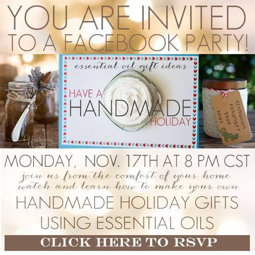 Homemade Holiday Facebook Party