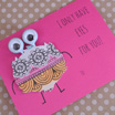 Printable Valentines: I Only Have Eyes For You!