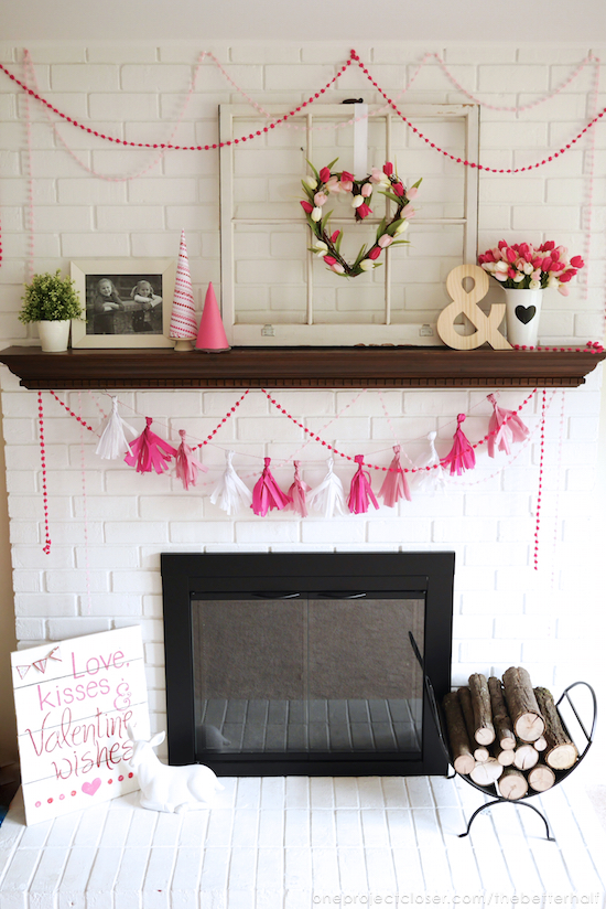 Easy DIY Tissue Garland from One Project Closer