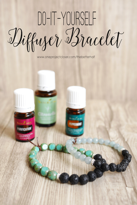 Diy Diffuser Bracelet One Project Closer