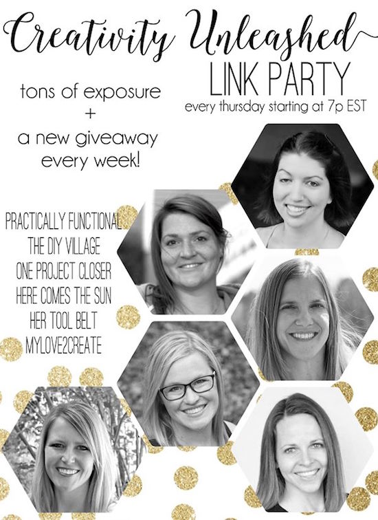 Creativity Unleashed Link Party Hosts